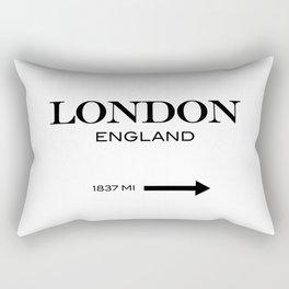 London - England Rectangular Pillow