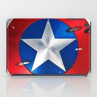 shield iPad Cases featuring SHIELD by Smart Friend