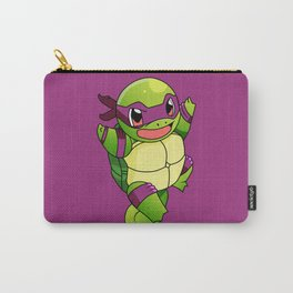 TMNT_POKET_MONSTER_purple Carry-All Pouch