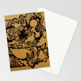 Explosion  Stationery Cards