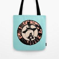 ghibli Tote Bags featuring Studio Ghibli  by HouseOfWonderland