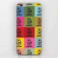 HAPPY SQUARES iPhone & iPod Skin