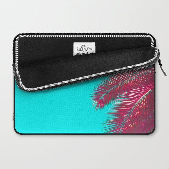 Neon Palm Laptop Sleeve