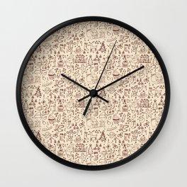 Christmas Collection Wall Clock