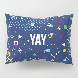 YAY Crazy + Colourful Pillow Sham
