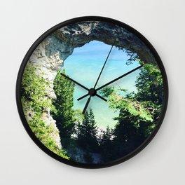 Arch Rock Wall Clock