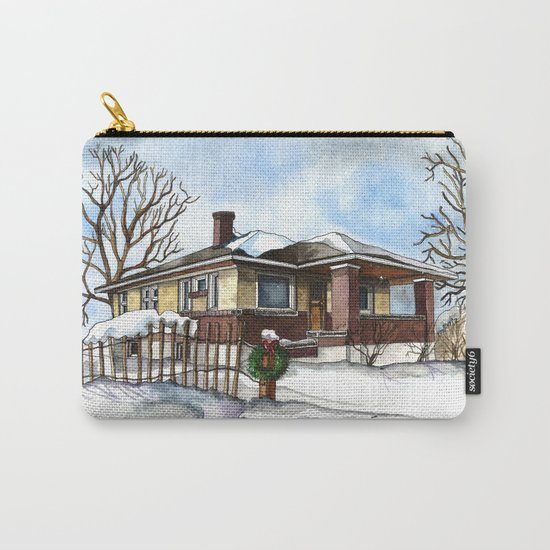 A Bungalow in the Country Carry-All Pouch