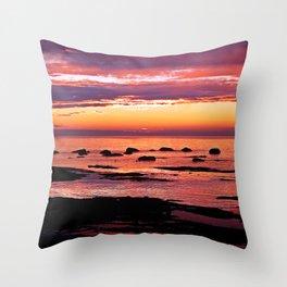 Sainte-Anne-Des-Monts Signature Sunset Throw Pillow