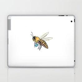 Bee with Purse Laptop & iPad Skin