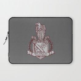 Nolite Te Bastardes Carborundorum_Burgandy Crest Laptop Sleeve