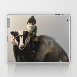 Gnome on Badger Laptop & iPad Skin