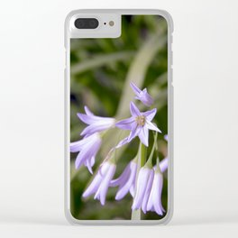 tiny flowers Clear iPhone Case