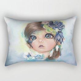 "Indigo - ""MunchkinZ"" By Sheena Pike Rectangular Pillow"