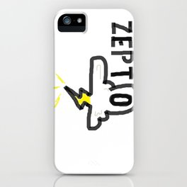 Zepto iPhone Case