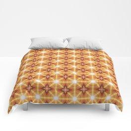 Matrix Connection Mandala Pattern Comforters