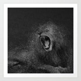 Sacred Lion Art Print