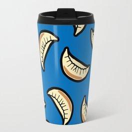 Gyoza Dumpling Pattern Travel Mug