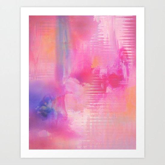 Abstract NC 03 Art Print