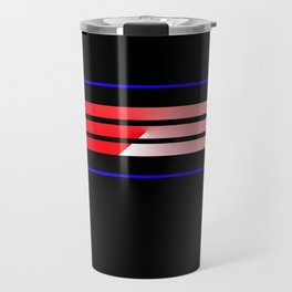 Team Colors 5...Red,blue Travel Mug
