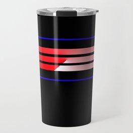 Team Colors 5...Red,blue Travel Mug