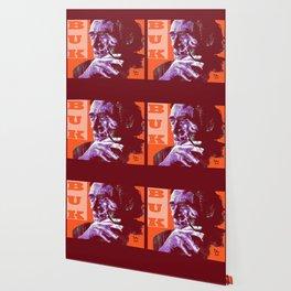 Charles Bukowski - PopART Wallpaper