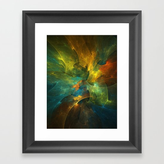 Somewhere in the Universe Framed Art Print