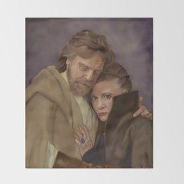 Luke and Leia Throw Blanket