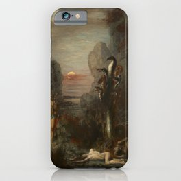 Gustave Moreau - Hercules and the Lernaean Hydra iPhone Case