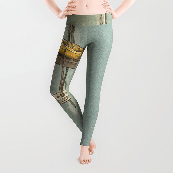 Vintage Clothespin Leggings