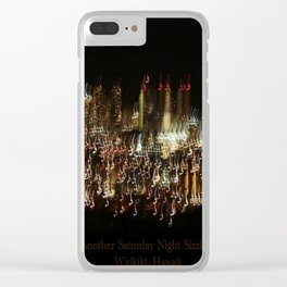 Saturday Night Sizzle Waikiki ... By LadyShalene Clear iPhone Case