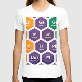 Elements of periodic table T-shirt