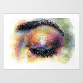 Reminiscing Art Print