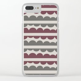 Mordidas Wine Clear iPhone Case