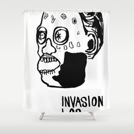Invasion Los Angeles Shower Curtain