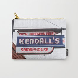 Kendall's Smokehouse Vintage Sign Carry-All Pouch