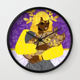 Year of the Pig Chinese Zodiac Wall Clock