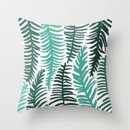 Groovy Palm Throw Pillow