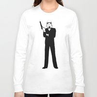 storm trooper Long Sleeve T-shirts featuring Trooper... Storm Trooper 5 by Derek Donovan