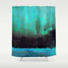 Lysergic Horizon Shower Curtain