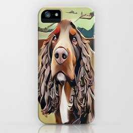 The Field Spaniel iPhone Case