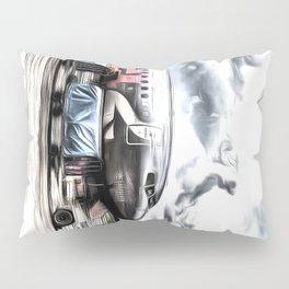 Boeing 737 Art Pillow Sham