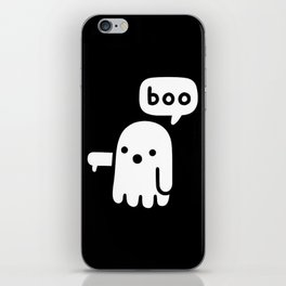 Ghost Of Disapproval iPhone Skin