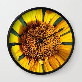 Horicon Marsh Sunflower Wall Clock