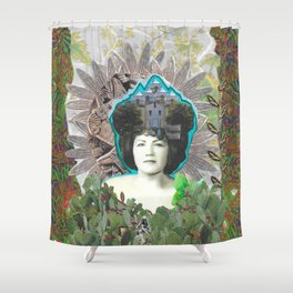 Remedies for Re(membering) Series Shower Curtain