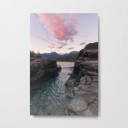 A River Runs Through It Metal Print