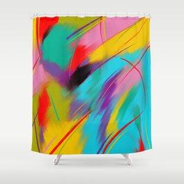 Folie cosmique Shower Curtain