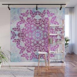 Always Save The Glitters Mandala Wall Mural