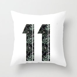 Master number 11 Throw Pillow