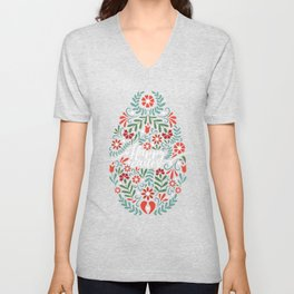 Happy Easter Unisex V-Neck