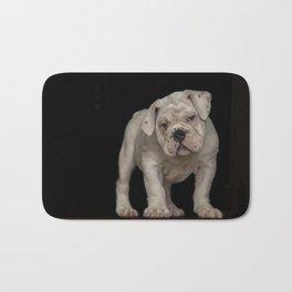 Bulldog Puppy Bath Mat